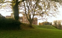 Mount Edgcumbe House in winter